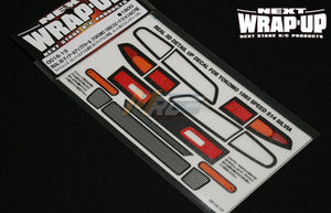 Wrap-Up Next (#0016-13) REAL 3D Detail Up Decal - YOKOMO 1093 SPEED S14 SILVIA
