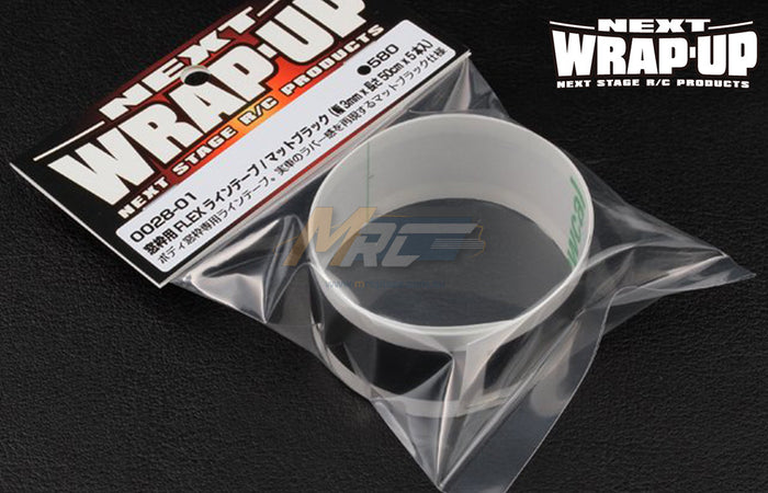 Wrap-Up Next FLEX Line Tape Matte Black 3mm x 50cm
