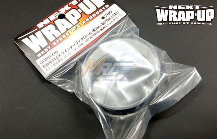 Wrap-Up Next FLEX Line Tape Chrome 3mm X 50cm