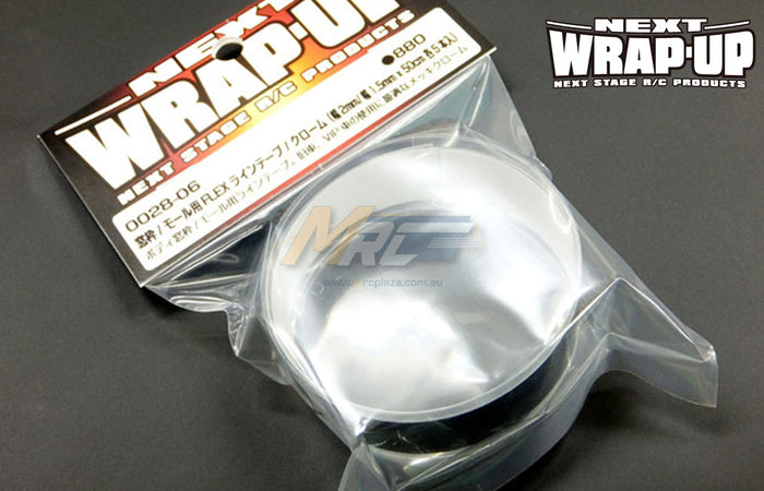 Wrap-Up Next FLEX Line Tape Chrome 2mm/1.5mm x 50cm