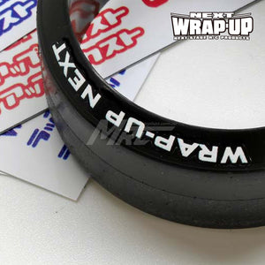 Wrap-Up Next Logo / Tyre Sticker Type-A - Red