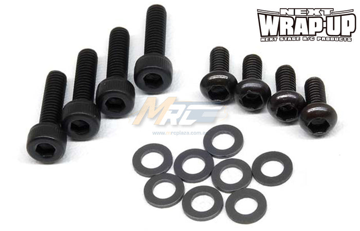 Wrap-Up Next VX Front Knuckle Spacer & Screw Set 0.5mm / 1.0mm