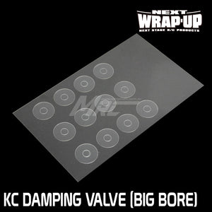 Wrap-Up Next (#0436-FD) KC Variable Damping Valve for Big Bore Piston