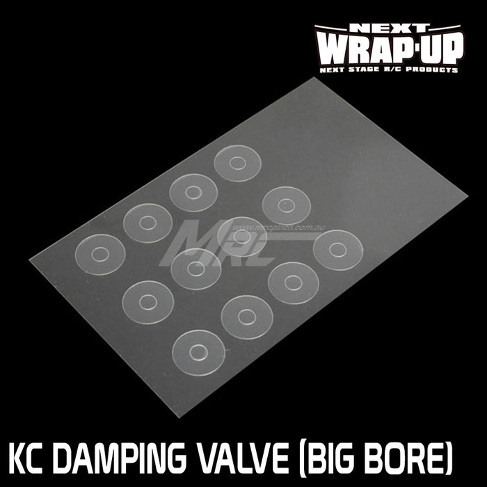 Wrap-Up Next KC Variable Damping Valve (Big Bore)