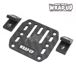 Wrap-Up Next Carbon ESC Plate w/ Slash Mount Set