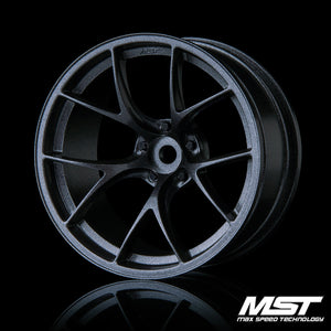 MST RID Offset +8 Wheel Set - Grey