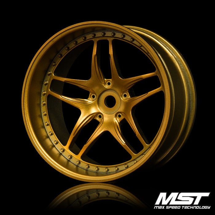 MST FB Wheel - Gold