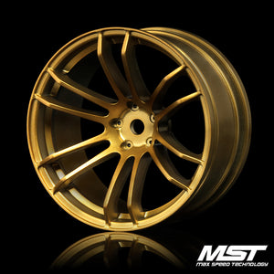 MST TSP Offset +7 Wheel Set - Gold