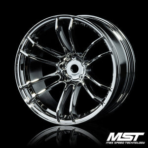 MST TSP Offset +7 Wheel Set - Silver