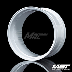 MST Offset Changeable Rim - White