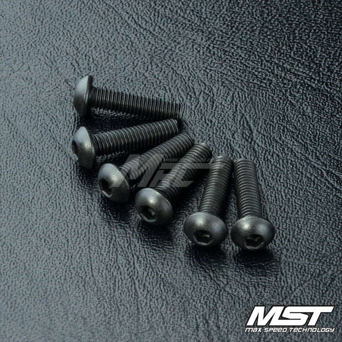 MST Round Head Screw M3 X 12