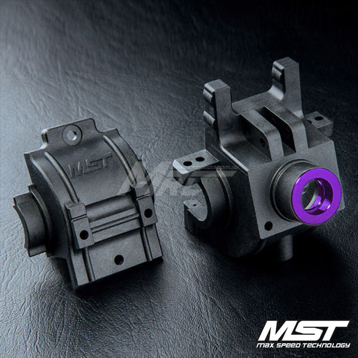 MST FXX Rear Gear Box Set - Purple