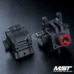 MST (#210062R) FXX Rear Gear Box Set - Red