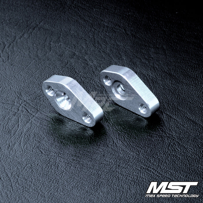MST FXX Alum. Steering Post Mount - Silver