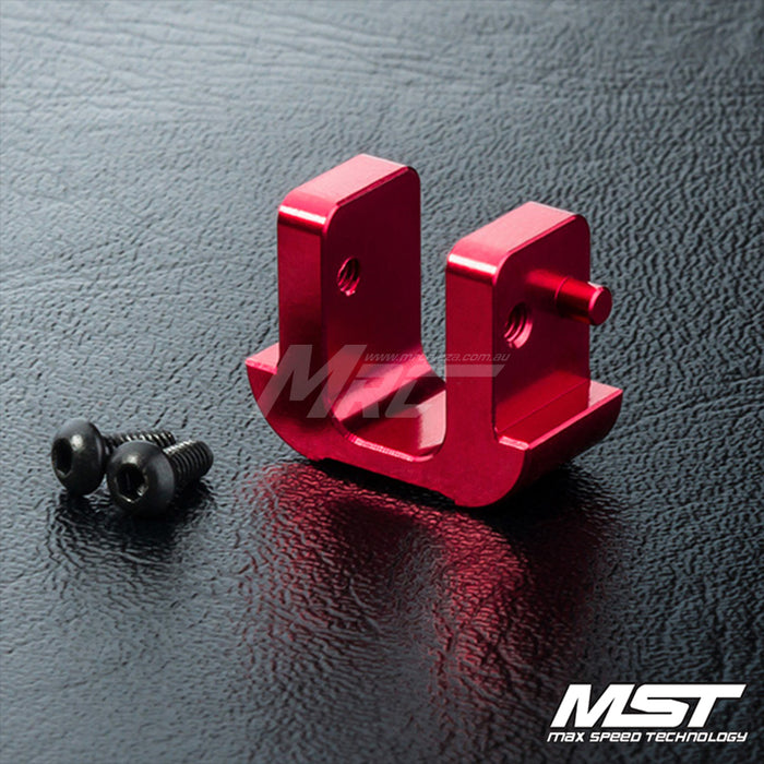 MST FXX Alum. Battery Block - Red