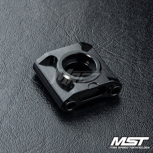 MST (#210600BK) RMX 2.0 Alum. Bevel Gear Mount - Black