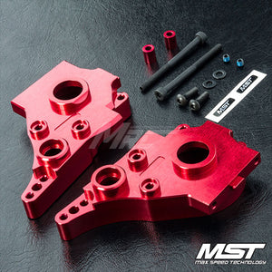 MST RMX 2.0 Alum. Rear Gearbox - Red