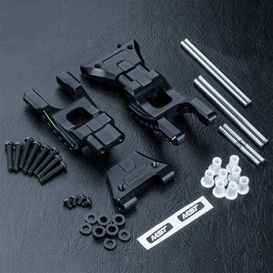 MST (#210616BK) Aluminum MB Rear Lower Arm Set - Black