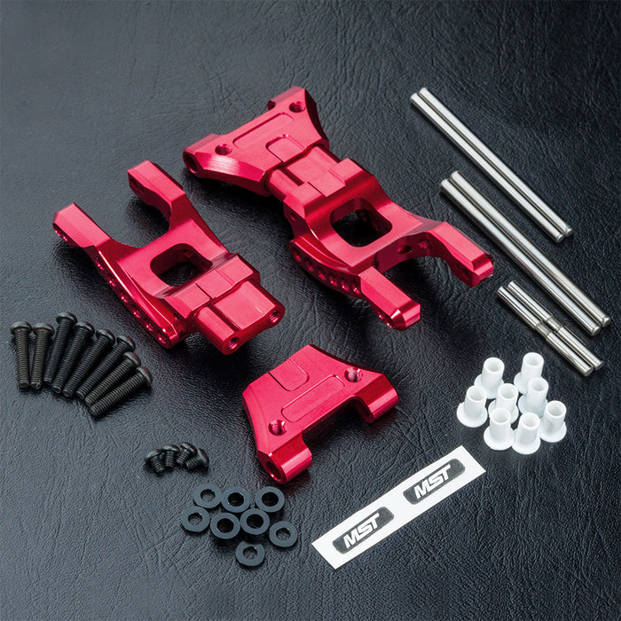 MST Alum. MB Rear Lower Arm Set - Red