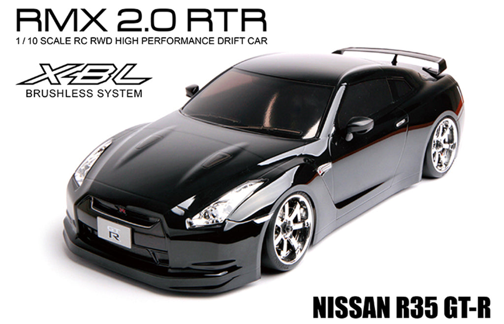 MST (#533702) RMX 2.0 R35 GT-R - 1/10 On Road Ready to Run 2WD Drift Car