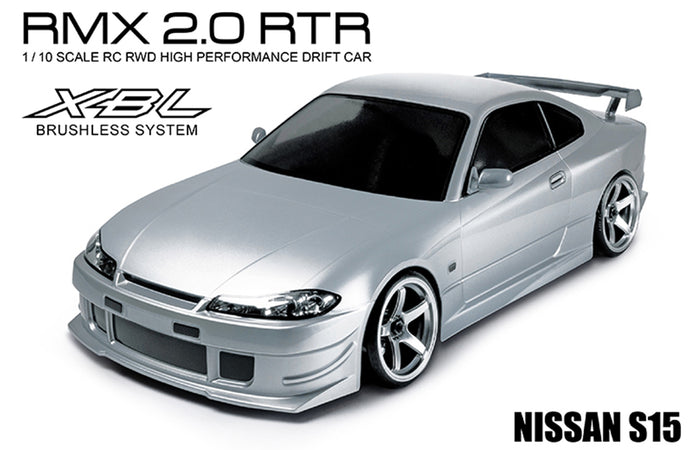 MST RMX 2.0 NISSAN S15 (SILVER) RTR