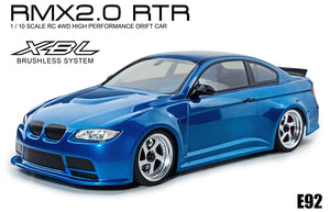 MST (#533716B) RMX 2.0 E92 (Blue) RTR 1/10 On Road Ready to Run 2WD Drift Car