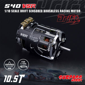 Surpass Hobby V5R 10.5T Drift Spec. Sensored Brushless Motor