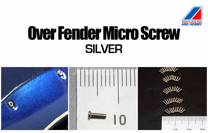 ABC Hobby Micro Screw - Silver