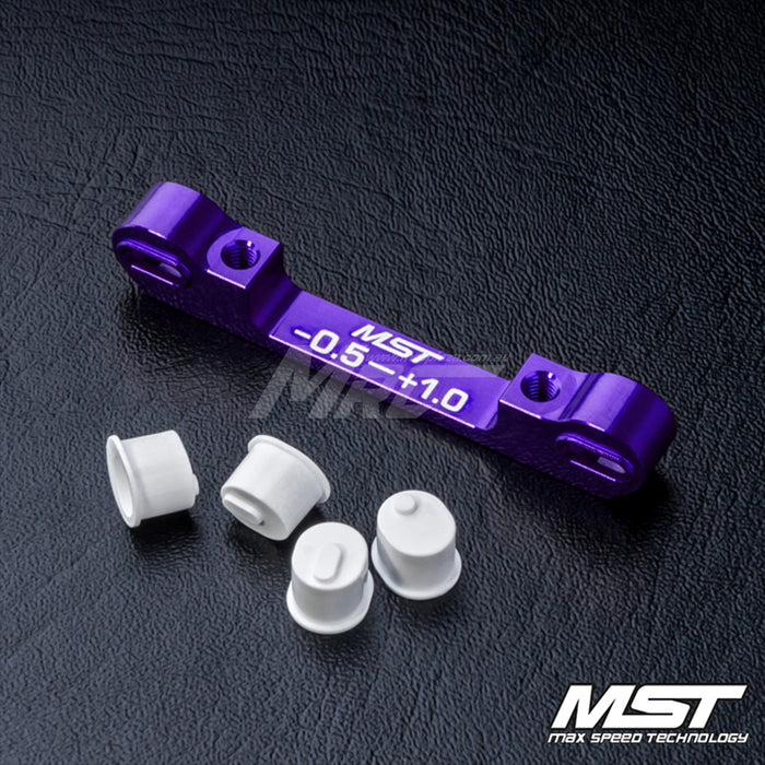 MST Adjustable Alum. Suspension Mount (-0.5-+1.0) - Purple