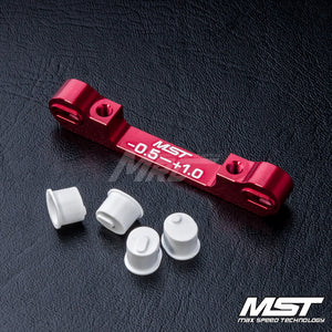 MST (#820057R) Adjustable Aluminium Suspension Mount (-0.5-+1.0) - Red