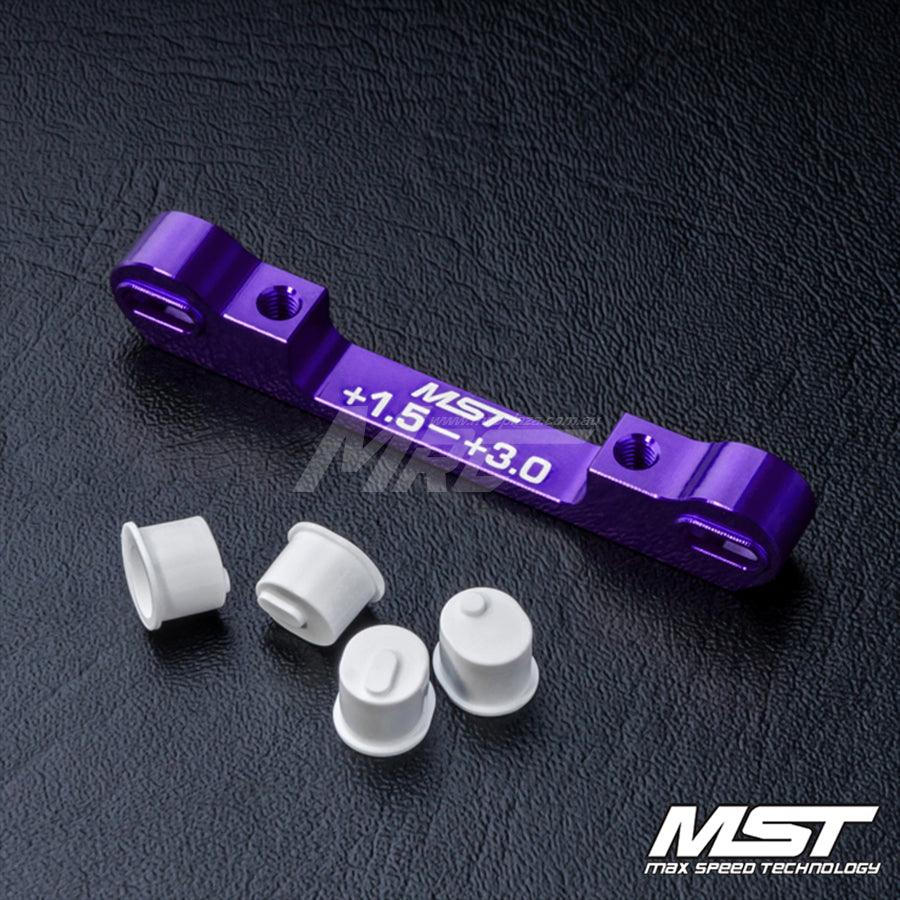 MST (#820058P) Adjustable Aluminium Suspension Mount (+1.5-+3.0) - Purple