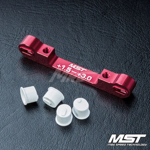 MST (#820058R) Adjustable Aluminium Suspension Mount (+1.5-+3.0) - Red