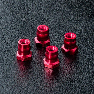 MST (#820097R) Aluminum Ball Connector Nut 4.8 - Red