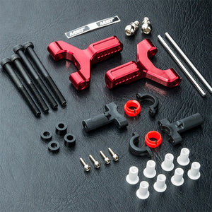 MST (#820117R) Aluminum Front Lower Arm Set - Red