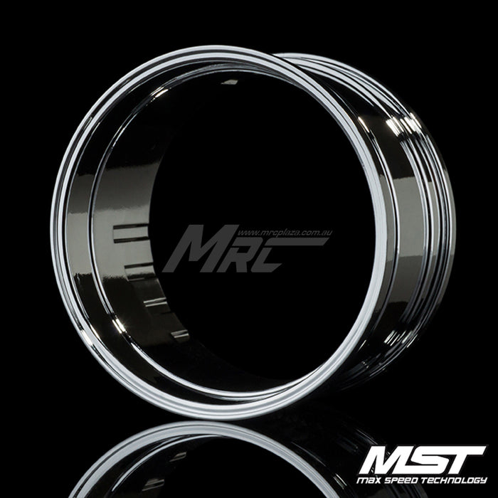 MST Offset Changeable Rim - Silver