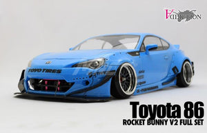 Addiction RC (#AD009-6) Toyota 86 Rocket Bunny V2 Full Set