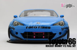 Addiction Toyota 86 Rocket Bunny V2 Full Set