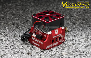 Yokomo (#BL-RPX2DR) Drift Performance RPX-II DRIFT SPEC Brushless ESC - Red
