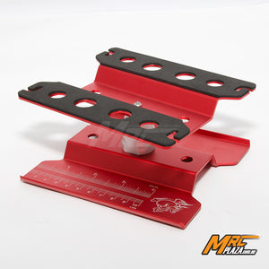 Alum. Car Maintenance Stand - Red