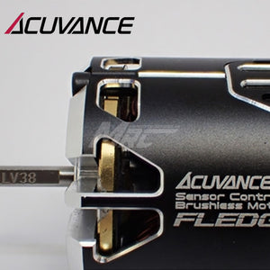 Acuvance FLEDGE 10.5T Motor w/ Fan - Black