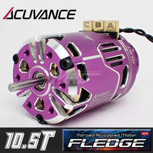 Acuvance FLEDGE 10.5T Motor w/ Fan - Purple