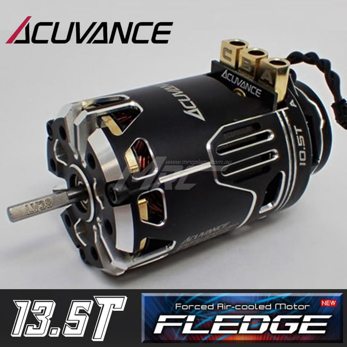 Acuvance FLEDGE 13.5T Motor w/ Fan - Black