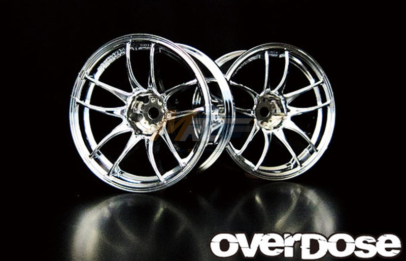 Overdose WORK EMOTION CR Kiwami Offset + 7 Wheel - Chrome