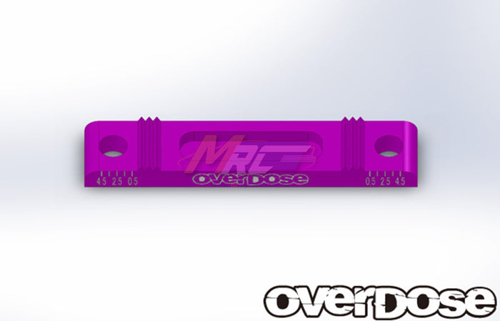 Overdose Adj. Suspension Mount Base - Purple