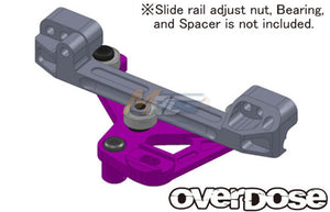 Overdose (#OD2065) Slide-Rack Steering Set - Purple