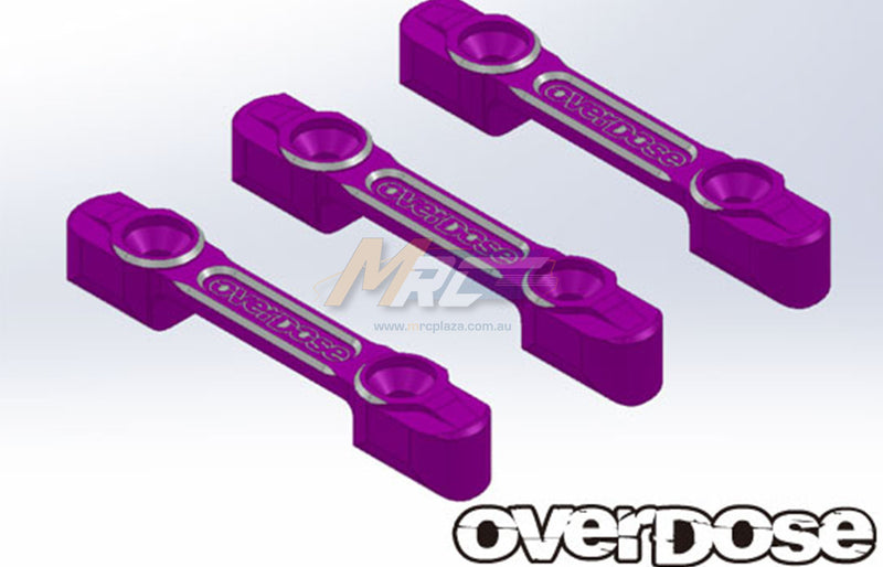 Overdose (#OD2096) Aluminum Suspension Mount Set - Purple