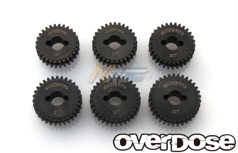 Overdose (#OD2148) Counter Gear High Gear Set 28T-33T