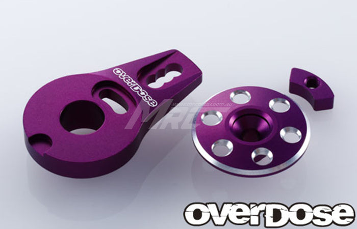 Overdose Alum. Servo Saver Horn Type-2 - Purple
