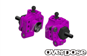 Overdose (#OD2277) Aluminum Adjustable Rear Upright - Purple