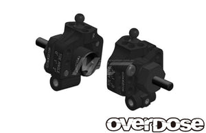 Overdose (#OD2279) Aluminum Adjustable Rear Upright - Black